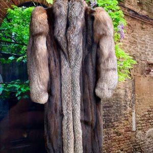 """Jackets & Blazers - Headturning Mink & Fox Fur Coat 50""""Long Beauty"""
